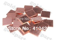 Wholesale Laptop GPU CPU Heatsink Copper Shim mmx15mm order lt no track