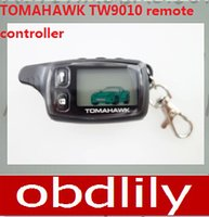 Wholesale Newest Original Two way car alarm system Tomahawk TW9010 remote controller keychain case cover