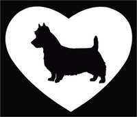 australian material - Car Stickers Dog Lovers Adoption Australian Terrier Car Window Sticker Vinyl Decal