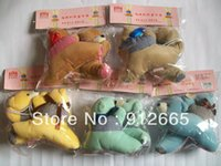 Wholesale 15pairs Cartoon Bear Curtain Tieback Buckle Window Curtain Clip Clasp With Retail Packing