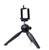 best mini tripods - Best tripods Universal cell Phone Camera Holder selfie stick stand mount Clip Yunteng YT mini tripod Accessories For iPhone6 Samsung S6