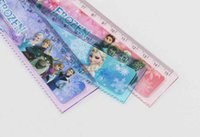 Wholesale Back to school Frozen Anna Elsa Cute cartoon ruler cm straight ruler students gift