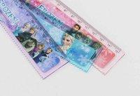 Wholesale Back to school Frozen Anna Elsa Cute cartoon ruler cm straight ruler students gift