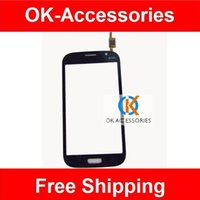 Wholesale Black White Gold Color For Samsung Galaxy Grand Neo Plus i9060i Digitizer Touch Screen PC