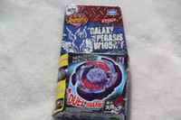 Wholesale 2015 New Arrive Galaxy Pegasus Pegasis W105R2F Metal Fury D Legends Beyblade BB70 Hyperblad Without Launcher