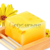 Wholesale 100 HandMade Whitening Peeling Glutathione Arbutin Honey Kojic acid Soap g