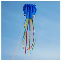 kites - NEW Hot sale m Portable Colorful Octopus Soft Flying Kite Easy to fly Outdoor sports gift brand new in cloth bag order lt no track