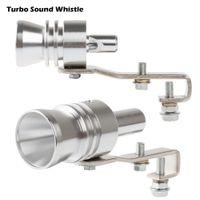 Wholesale Aluminum Universal Car Turbo Sound Whistle Exhaust Muffler Simulator Pipe Blow Off Valve XL Size