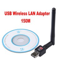Wholesale Mini M USB WiFi Wireless Network Networking Card LAN Adapter Antenna Computer Accessories Software Driver