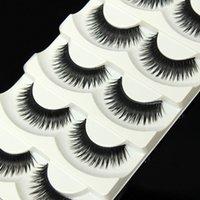 Wholesale Thick Long Nature Fake Eye Lashes Styles Pairs False Eyelashes Voluminous Beauty Makeup Styling Tools