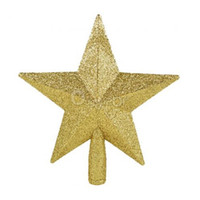 best topper - Best Sale NEW Colors Christmas XMAS Tree Decoration Topper Star Hanging Ornament Home Garden Party Decor