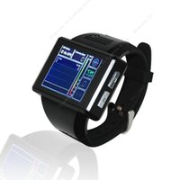 Wholesale Android Dual Core quot Touch Bluetooth Smart Watch GSM Phone MP WiFi GPS FM