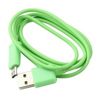 Wholesale Micro USB Male A to Data Charger Cable for Android MID Amazon Kindle fire Green Brand New