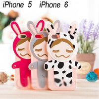 Cheap 3D Cute Rinka Doll Cover Best Soft Silicone Case