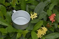 aluminum appliances - Piece ml Aluminum cups outdoor picnic cup appliance Coffee cup outdoor can heated water