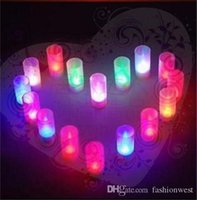 Wholesale Wedding Decoration LED Light Blow Sensitive Candle Design LED Night Light Home Party Wedding Decoration Night light Induction Creative Candl