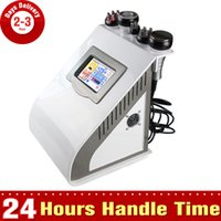 Wholesale No Side Effects Facial Tighten Lifting Photon Liposuction Ultrasonic Cavitation Body Slimming Vacuum RF Fat Loss Beauty Machine
