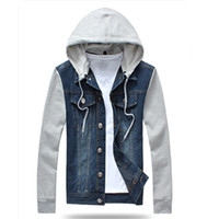 Cheap Plus Size Hooded Jean Jacket | Free Shipping Plus Size