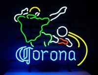 advertisement games - Corona Extra Football Neon Sign Sport Game Room Beer Bar Pub Store Display Custom Handcrafted Real Glass Tube Advertisement Sign quot X13 quot