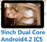 Wholesale DHL cheap Sale quot Inch Dual Core Android Tablet PC Actions Dual Camera MB GB Capacitive Touch Screen GHZ WIFI quot epad Tablet PC