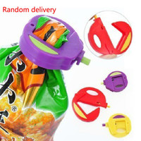 Wholesale New Arrival Colorful Kitchen Food Snacks Chips Storage Bag Sealing Clip Size Attachment Lock