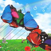 Wholesale 2016 New set Colorful Butterfly Garden Ornament FlowerPot Plant Butterflies Garden Decor Random Color