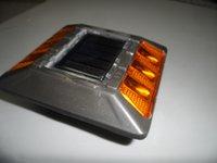 aluminium road stud - 6pcs LED aluminium solar road stud RED YELLOW BLUE WHITE GREEN color optional SP D