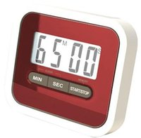 Wholesale LCD Screen Digital Kitchen Cooking Timer Easy to Use and Read Great for Seniors Electronic Timers