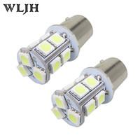 Rouge Blanc Bleu Lampe 1,157 Led T25 S25 BAY15D 13-SMD 5050 LED Tournez Queue Signal Parking Brake Lamp arrêt Ampoule à deux filaments