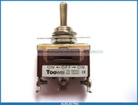 Wholesale 5 Toggle Switch on on pin V A V A New