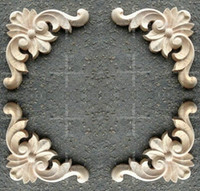 Wholesale 1510 Fashion corners wood carved motif wood shavings smd furniture door cabinet door applique dongyang wood carving