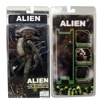 alien brain - 5pcs NECA Movie Aliens Xenomorph Warrior Series PVC Action Figure Collectible Model Doll Toy Transparent Brain New in Boxed quot CM