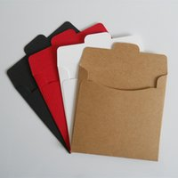 Wholesale 12 cm High Quality Disc CD Sleeve gsm Thick Kraft CD DVD Paper Bag Cover CD Packaging Envelopes Pack Boxes