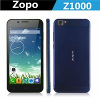 "Cheap Free shipping 5"" IPS HD 7.2mm 14MP Mtk6592 Octa Core 1GB RAM 16GB ROM Android OTG ZOPO ZP1000 smart phone"