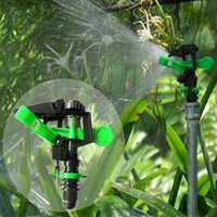 Plastic agricultural nozzles - Novelly Pc Connector Water Sprinkler Spray Nozzle Agricultural Micro Spray Sprinkler Rotating Plant Watering Drippers