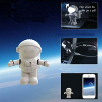 astronaut book - Cute Outer Space Astronaut Style USB LED Night Light Lamp LED Emergency Desk Lamp Keyboard Book Reading For Computer PC Laptop order lt no t