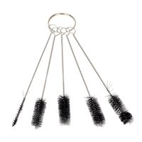 airbrush tattoo equipment - set Airbrush Spray Gun Nozzle Cleaning Tool Cleaning Brushes Set for Tattoo Equipment Needle Mouth Clean Brushes