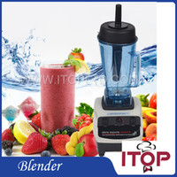 Wholesale Electric Blender Food Processor Variable Speed L Capacity Crusher w Ice Crusher Maker Commercial Home Juicer