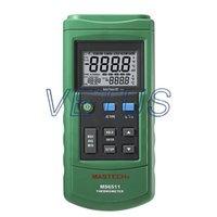 ambient temperature range - digital temperature meter MS6511 Dual input measure range C to C Built in ambient temperature compensation C