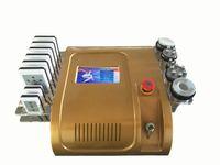 130W cavitation cellulite - Update k Cavitation diode laser nm nm Lipo Laser Multipole RF Vacuum Fat Cellulite Slimming Gold