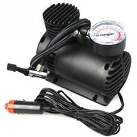 car mini compressor air pump - Mini Portable PSI Electric Car Tire Tyre Inflator Pump Auto Car Pump Air Compressor with Pneumatic Nozzle Bike Tool Vehicle