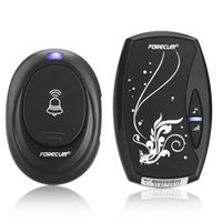 Wholesale Black EU Plug in V AC Digital LED Cord Song Music M Range Wireless Remote Control Home Door Bell Doorbell