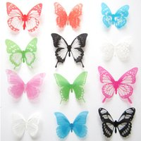 bathroom sales - Hot sale DIY D Butterfly Wall Stickers Creative Art Decal PVC Bedroom Home Decor