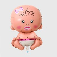 baby christening decoration - Pink Girl Baby Shower Bath Helium Balloons Balloon Christening Wedding Birthday Party Decoration Decor