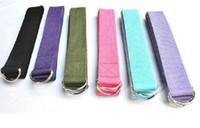 best leg strap - Best Price Cotton Long Type Yoga Stretch Strap Training Belt Waist Leg Fitness Gym Adjustable Yoga Stretch Strap L0059