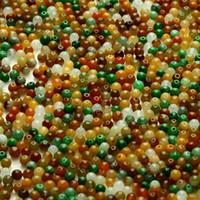 Wholesale Natural a cargo jade porcelain beads mm bead necklace bracelet jade accessories DIY