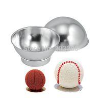 aluminum hemispheres - Pack of Pc DIY Non toxic Aluminum Alloy Cake Tin Hemisphere Pan Decoration Pan Molds