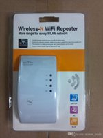 Wholesale 300Mbps Wireless N Wifi Finder Repeater N Netwoouter Range Expander Amplifier
