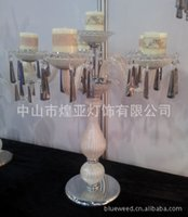 Wholesale Crystal jewelry romantic aromatherapy candles candlestick candlestick wedding supplies beautiful modern crystal table lamp