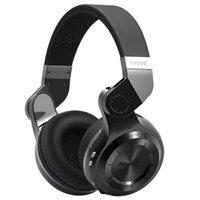 bass resonance - HOT EAGLE Iconic powerful bass resonance Bluedio T2 Turbine Bluetooth Wireless Stereo headphones Bluetooth earphone Black